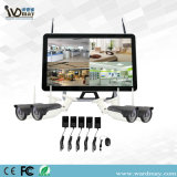 "Latest 22"" Screen 4CH 1080P WiFi NVR CCTV System 2.0MP Wireless IP Camera"