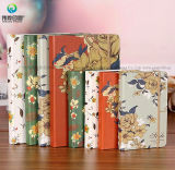 China Wholesaler Attractive Grey Cardboard Hardcover Paper Notebook