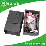 Black Advanced Gift Flower Cardboard Paper Box/Packaging Gift Box for Christmas