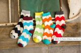 New Design Candy Color Cute Dress Crew Socks