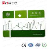 RFID Paper Tickets MIFARE Ultralight EV1 Public Transportation Cards