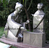 Stainless Steel Sculpture Handicraft Portrait