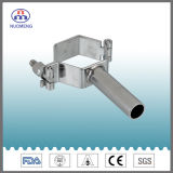 Sanitary Stainless Steel Th3 Hexagon Pipe Holder (DIN-No. NM0910110)
