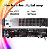 Professional Digital 2X1200W Big Power Amplifier