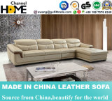Best-Selling Contemporary Commercial Leather Sofa (HC2085)