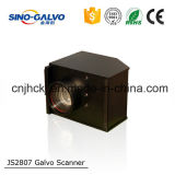 16 Beam Aperture Light Weight Analog Js2807 Scan Head for Laser Engraving