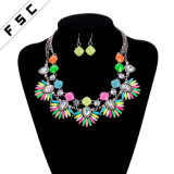 Wholesale Cremation Jewellery Latest Model Jewelry Set with Necklace Earring