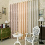 Elegant Floral Curtain Jacquard Blackout Window Curtain Fabric