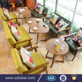 4 Seat Restaurant Furniture Cheap Cafe Tables and Chairs