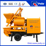 Pully Manufacture 40m3/H Double Shaft Mixer Concrete Pump (JBT40-L)