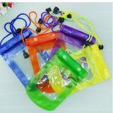 Mobile Phone PVC Waterproof Bag Lanyard Phone Waterproof PVC Package