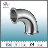 Stainless Steel Pipe Fitting: 90 Degree Clamped Elbow (DIN-No. NM0112003)