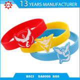Custom Logo Silicone Rubber Wristband