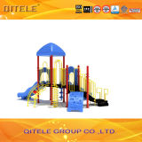 Colorful Galvanized Post Large Wholesale Outdoor Playground Equipment