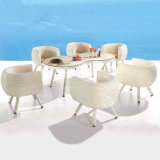 Leisure Time Outdoor Rattan Coffee Shop Tables and Chairs (Z578)