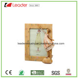 Hand Painted Decorative Fairy Polyresin Photo Frames for Home Decoration