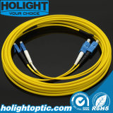 Sc to LC Sm 2.0mm Duplex Fiber Optical Patchcord