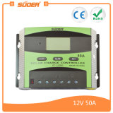 Suoer 12V 24V 50A Solar Power PWM Charge Controller (ST-C1250)