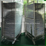 TM-50ds SUS304 Stainless Steel Mobile Screen Drying Rack