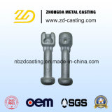 OEM Investment Steel Casting for Railway High Voltage Line
