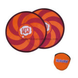 190t Polyester Foldable Frisbee, Dog Frisbee Fan with Pouch