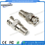 CCTV Female F to Male BNC Coax Connector (CT5042)