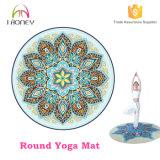 Custom Printed Round Yoga Mat 1.4mm Diameter