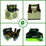 6 Bottle Beer Box Cardboard with Handle Wholesale