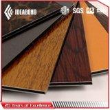 Ideabond Aluminum Composite Panel Wood Look Ceiling Panels (AE-306)