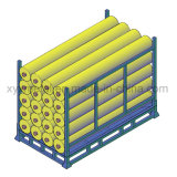 Textile Industrial Warehouse Stacking Storage Fabric Rolls Rack