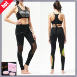 Custom Made Lycra Breathable Women Fitness Leggings (with mesh)