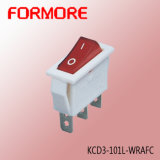 Kcd3 Red Lighted Rocker Switch