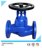 DIN Pn16 Flange End Bellow Cast Steel Globe Valve