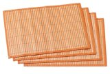 Environmental Friendly Bamboo Placemats Cup Coaster Table Cloths
