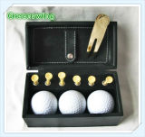 Promotional Leather Golf Ball Set (GS-83)