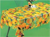 PVC Printed Transparent Tablecloth (TT0202)