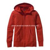 Spring/Autumn Women′s Outdoor Windproof Hoody Fleece Jacket (pH-J01)