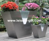 Fo-9029 V-Type Stainless Steel Plant Container