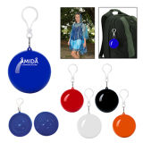 Fashionable Waterproof Promotional Disporsable Plastic Ball Raincoat
