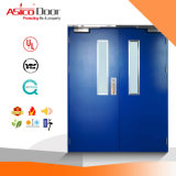 Glazed Steel Fire Rated Door with 3.0 Hours UL Certified