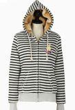 Ladies Fashion Coats 2015 Custom Sweatshirt with Fur Hooded