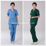 Ly New Design Cotton Nurse Scurb Uniforms (LY-MU003)