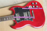 Mahogany Body & Neck / Sg Style Afanti Electric Guitar (ASG-545)