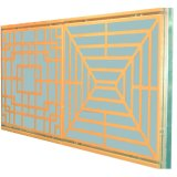 Hollow Pattern Aluminum Panels for Facade Cladding and Decoration