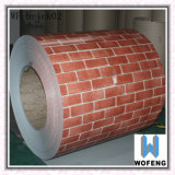 High Quality Double Colors Red Brick PPGI Steel in Coils