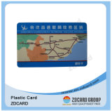 ISO 9001 Plastic PVC Material Transportation Cards