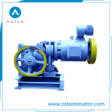 Small Loading AC2 Geared Elevator Traction Machine (OS111-YJF120WL)
