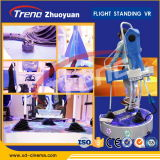 2015 High Return Theme Park Zhuoyuan Stand-up Flight Vr Simulator