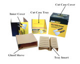 Corrugated Color Cut Case with Cover (PDQ Display)