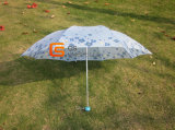 3-Folding Stain Cartoon Fabric Umbrella (JHDF3067)
